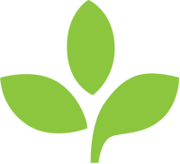 SoyPrint logo leaf